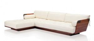 """""""L-shaped"""" sofa"""