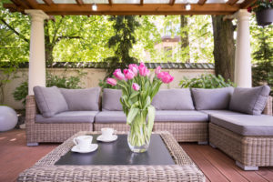 Comfort is king for today's outdoor furniture.
