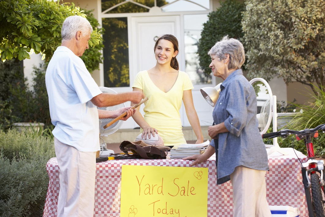 Get Yard Sale Shopping Tips from Our Storage Facility Staff