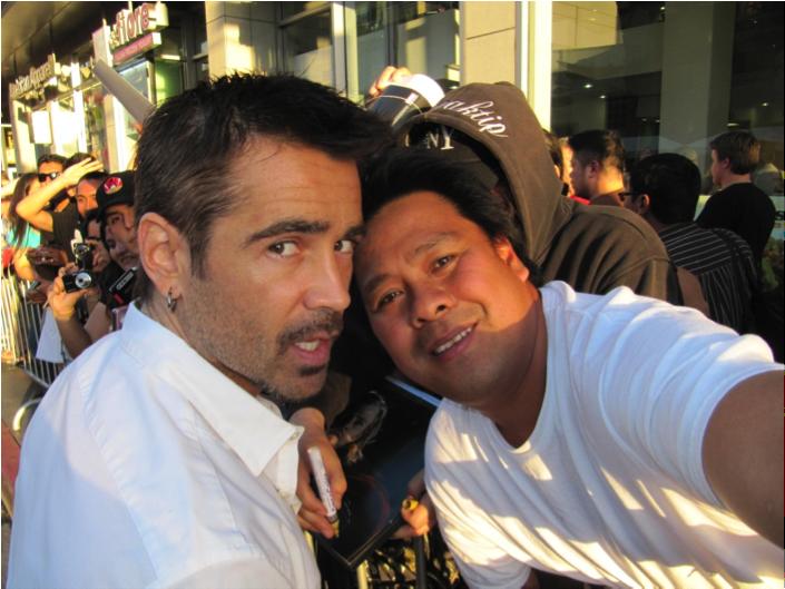 Colin Farrell and Hollywood Joseph