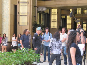 Fox TV's Mobbed with Howie Mandel Taping at Hollywood & Highland