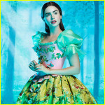 Lily Collins plays Snow White in Mirror Mirror