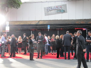 Publicists before premiere of What's Your Number in Westwood