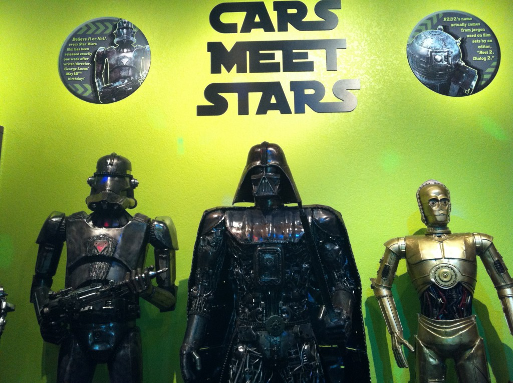 Stars from Cars is a New Ripley's Exhibit on Hollywood Boulevard