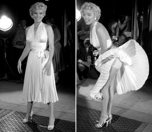 Marilyn Monroe's Belted Dresses are In Fashion