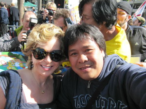 Yeardley Smith voice of Lisa Simpson