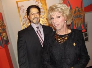 Robert Downey, Jr. with Joan Rivers
