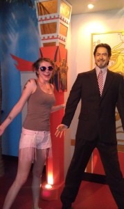 American Idol Finalist Siobhan Magnus Visits Hollywood Wax Museum