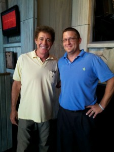 Barry Williams (aka Greg Brady) at Hollywood Wax Museum Branson