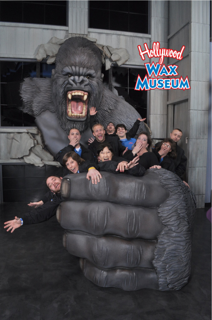 Hollywood Wax Museum Staff Holiday Greetings and Giving