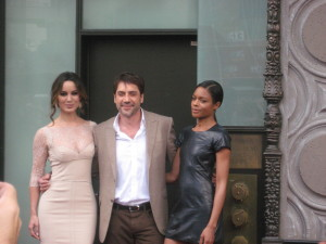 Hollywood Joseph Snaps Skyfall Bond Girls and Javier Bardem
