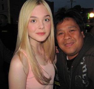 Hollywood Joseph meets actress Elle Fanning