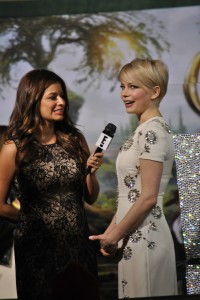 Hollywood Joseph spots Michelle Williams on the red carpet in Hollywood, CA.