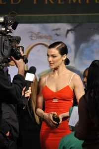 Joseph spots actress Rachel Weisz at the Oz the Great and Powerful premiere in Hollywood, CA.