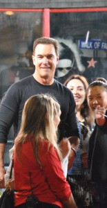 Hollywood Joseph spots Patrick Warburton in Hollywood.