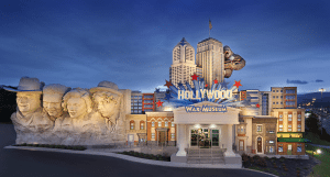 Hollywood Wax Museum was not  damaged by the recent fires in Pigeon Forge,  Sevierville and Gatlinburg