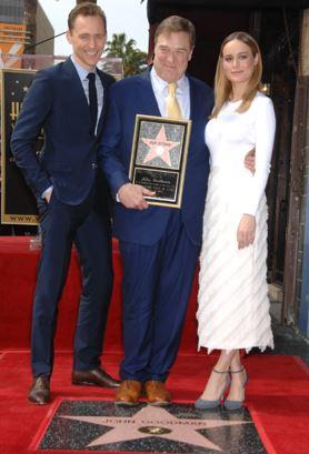 Tom Hiddleston, John Goodman and Brie Larson